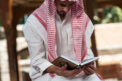 Young Muslim Guy Praying Stock Images