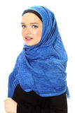 Young muslim lady portrait Royalty Free Stock Images