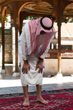 Young Muslim Man Praying Royalty Free Stock Photo