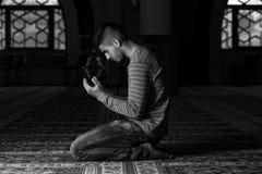 Young Muslim Man Praying Stock Images