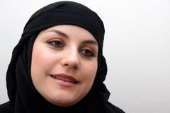 Young muslim woman Stock Photography