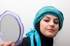 Young muslim woman Stock Photos