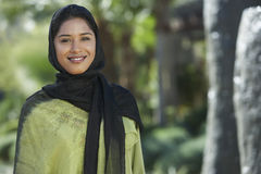 Young Muslim Woman. Portrait of a young Muslim woman in traditional wear Royalty Free Stock Photos