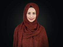Young muslim woman portrait Royalty Free Stock Photography