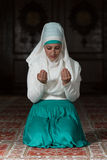 Young Muslim Woman Praying Stock Images