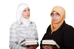 A young muslim women Stock Images