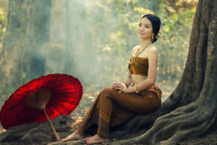 Young Myanmar Royalty Free Stock Images
