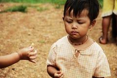 Young Myanmar children at school Stock Photos