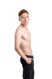 Young naked  man Stock Photo