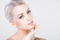 Young natural beauty Stock Photo
