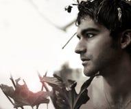 Young natural man Stock Photography