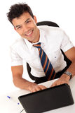 Young Nepalase businessman Stock Photo