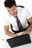 Young Nepalase businessman Stock Photo