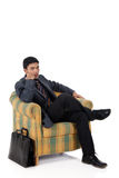 Young nepalese business man Stock Images