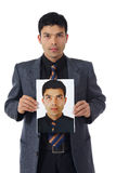 Young nepalese businessman, conscience Royalty Free Stock Photo