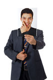 Young nepalese businessman, photo Stock Images