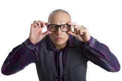 Young Nerd Royalty Free Stock Images