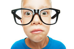 Young nerd royalty free stock image