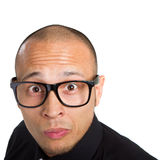 Young nerdy businessman Royalty Free Stock Photography