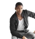 Young nice black man stock image