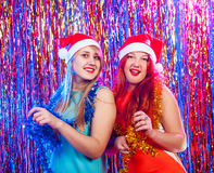 Young nice girls have fun Stock Image