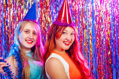 Young nice girls have fun Stock Photography