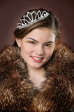 Young noblewoman Stock Images