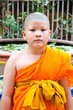 Young novice monks Royalty Free Stock Photos