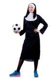 Young nun Stock Photo