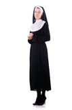 Young nun Royalty Free Stock Images
