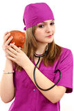 Young nurse Royalty Free Stock Photography