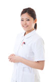 Young nurse. Of the smile Royalty Free Stock Photo