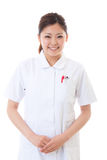 Young nurse. Of the smile Royalty Free Stock Image