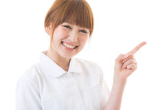 Young nurse. Of the smile Royalty Free Stock Images