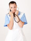 A young nurse Stock Photo