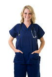 Young nurse Stock Images