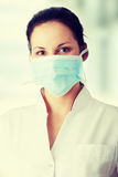 Young nurse or doctor Royalty Free Stock Photo