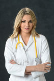 Young Nurse or Doctor Royalty Free Stock Image