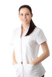 Young nurse or female doctor Royalty Free Stock Photo