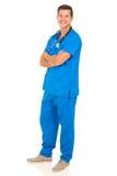 Young nurse posing Royalty Free Stock Image