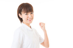 Young nurse Stock Image