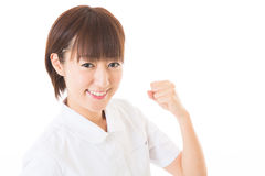 Young nurse Stock Photography