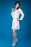 Young nurse with a stethoscope Stock Image