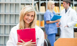 Young Nurse at work Royalty Free Stock Image