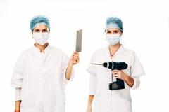 Young nurses Royalty Free Stock Photo