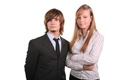 Young office team stock photography