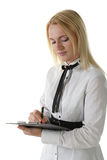 Young office worker Royalty Free Stock Photo