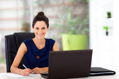 Young office worker Stock Images