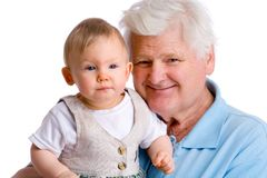 Young and old Stock Image