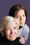 Young and old Stock Photos